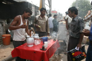 Free stock photos of [Chai store on the street]