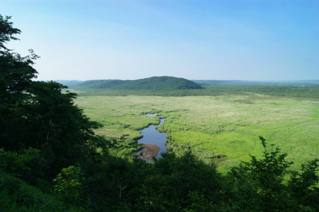 """Free stock photos of [The view from the Kottaro Wetland Observatory of Japan's largest wetland """"Kushiro""""]"""