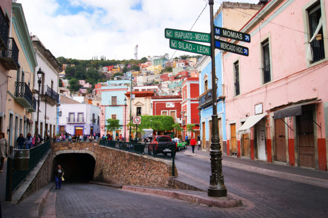 Free stock photos of [Guanajuato's pop, cute and colorful cityscape in Mexico]