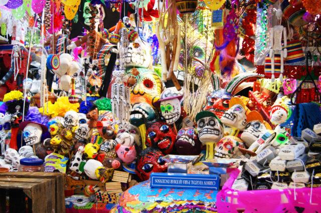 Free stock photos of [Skull folk crafts found at the Mercado Hidalgo in Guanajuato]