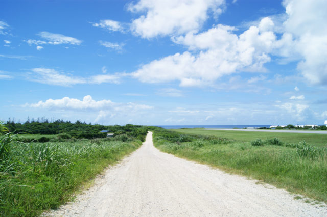 Free stock photos of [White road made of coral, a famous spot on Yoron Island]