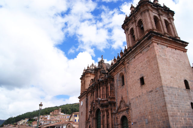 Free stock photos of [Cathedral of the city of Cusco, World Heritage Site in Peru]