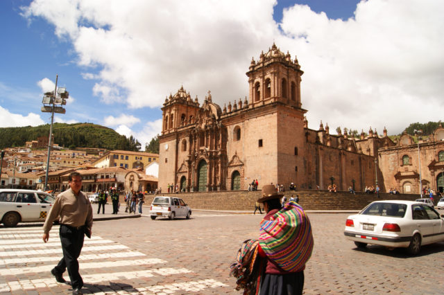 Free stock photos of [Peru World Heritage Cusco Cathedral and cityscape]