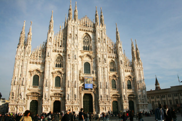 """Free stock photos of [Italy's largest Gothic church Duomo in Milan """"Milan Cathedral""""]"""