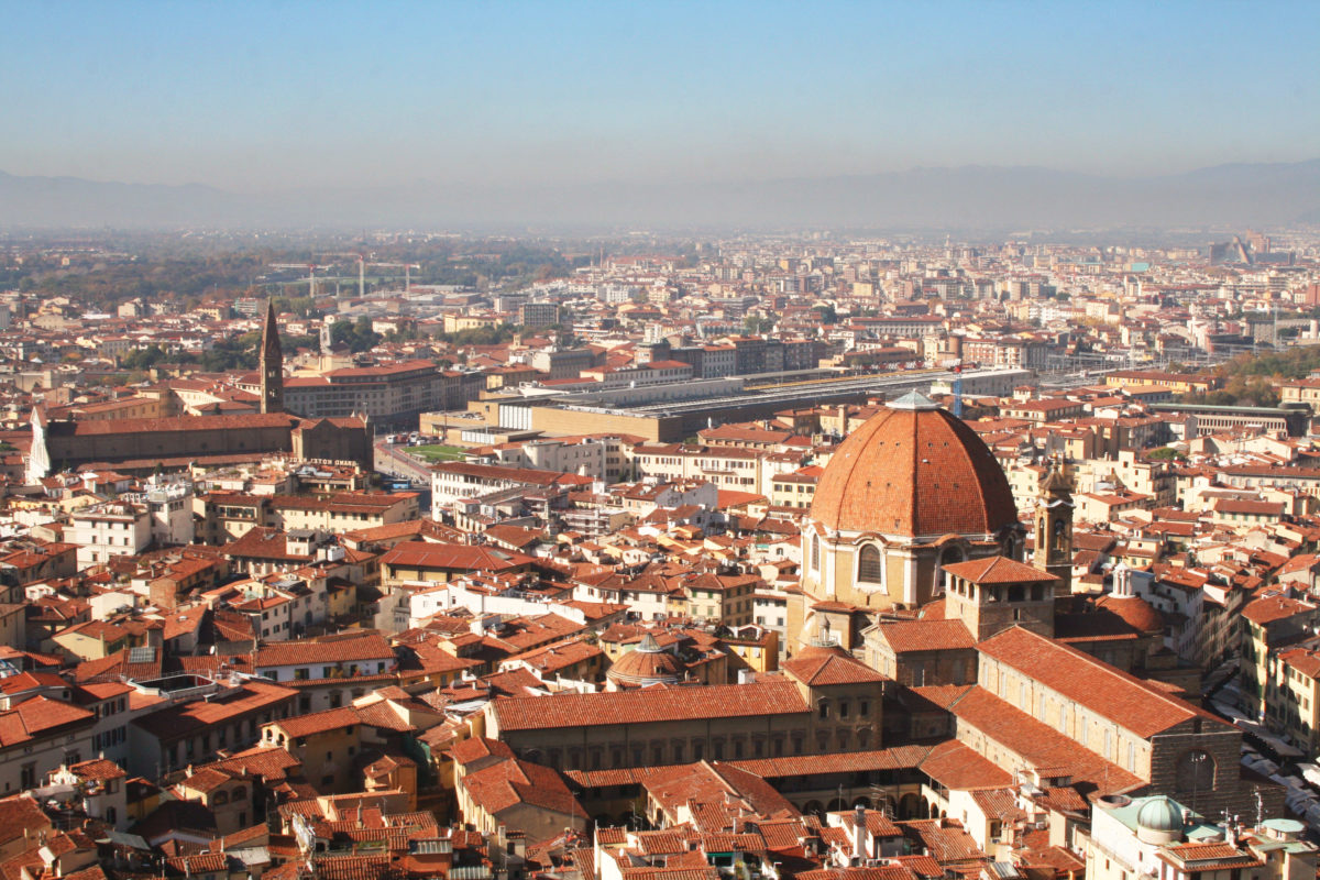 """Amazing view of """"Florence"""" from the Duomo cupola ②"""
