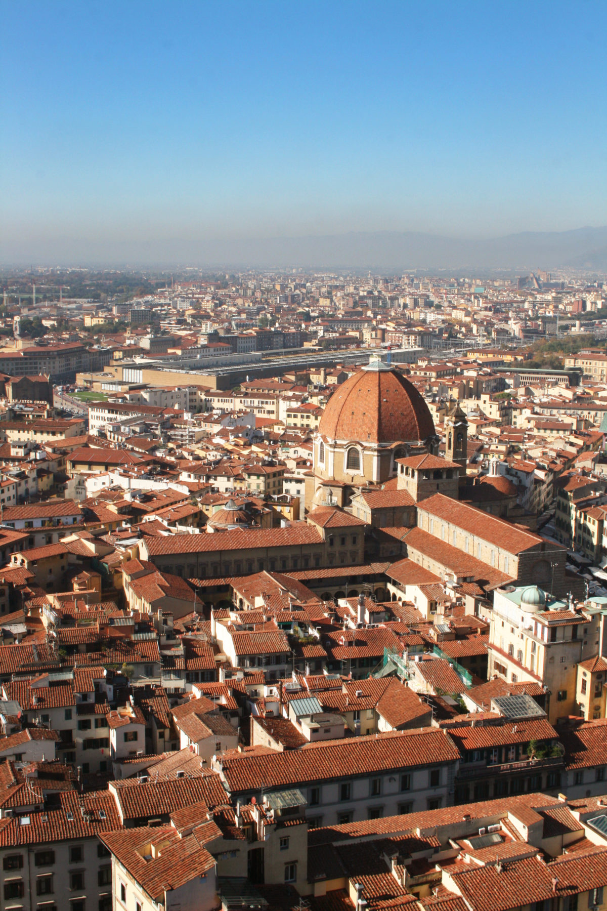 """Amazing view of """"Florence"""" from the Duomo cupola ①"""