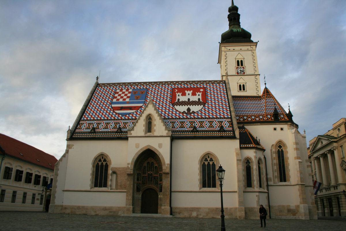 St. Mark's Church, a lovely Catholic church in Zagreb