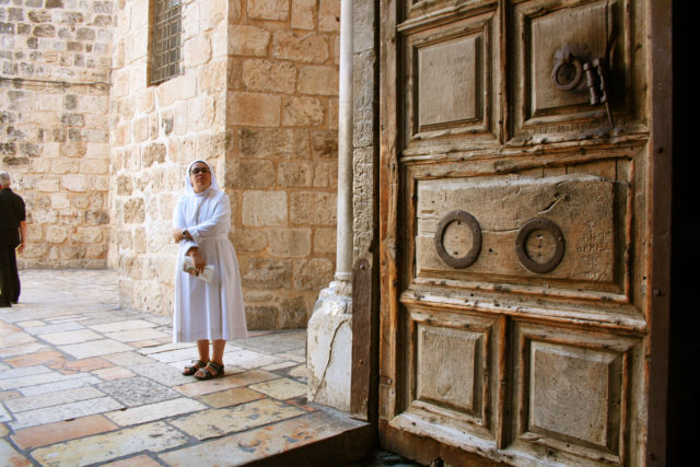 Free stock photos of [Sisters at the Holy Sepulcher Society in Jerusalem]